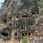 Ликийские гробницы. Мира. Турция