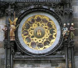 Нижняя часть часов Орлой