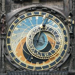 Часы Орлой. Прага