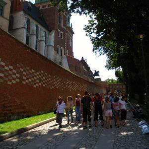 Дорога к Вавельскому замку