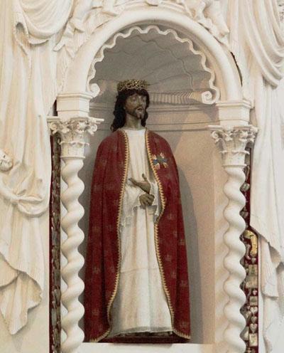Деревянная фигура Христа (XVII в.)