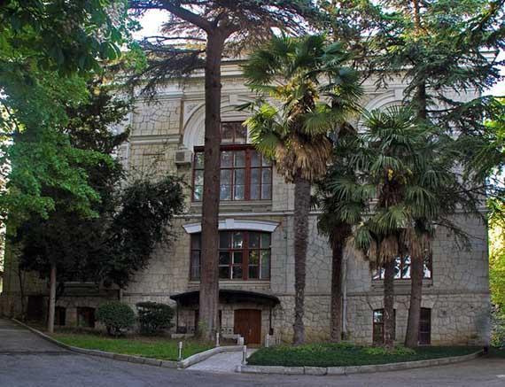 Одно из зданий института Магарач
