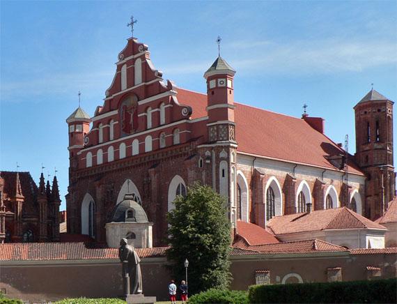 Бернардинский костел, Вильнюс