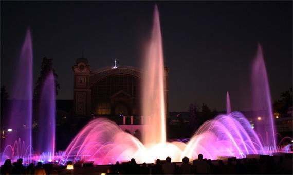 пражские поющие фонтаны