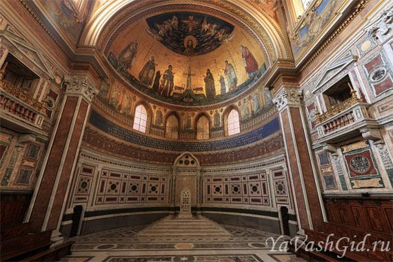 Чарующий интерьер собора св. Ионна Латеранского