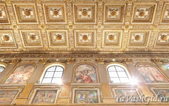 Восхитительная красота украшений церкви