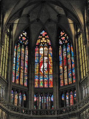 Витражи собора Св. Вита