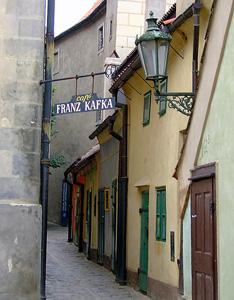 Дом Кафки на Златой улочке
