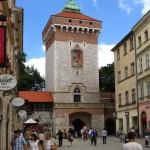 Флорианские ворота. Краков. Польша