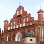 Костёл Святых Франциска и Бернардина. Вильнюс. Литва
