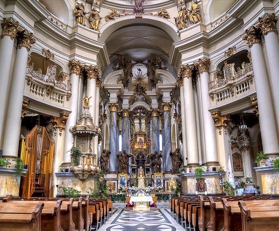 Интерьер Доминиканского монастыря