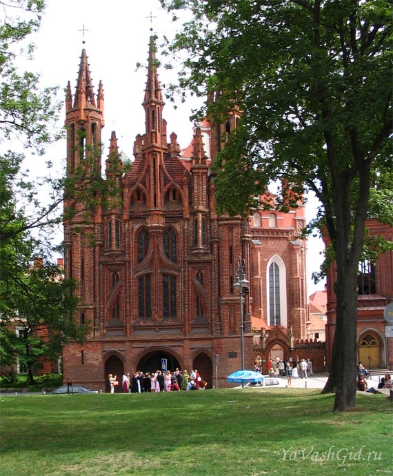 Костел Св. Анны, Вильнюс