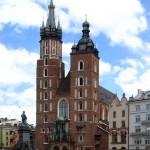 Мариацкий костел. Краков. Польша