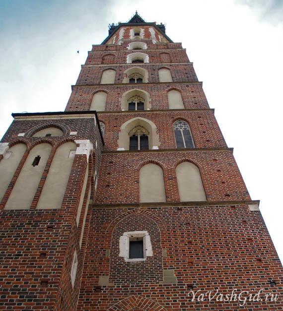 башня мариацкого костела