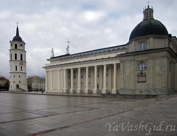 Кафедральная площадь, Вильнюс