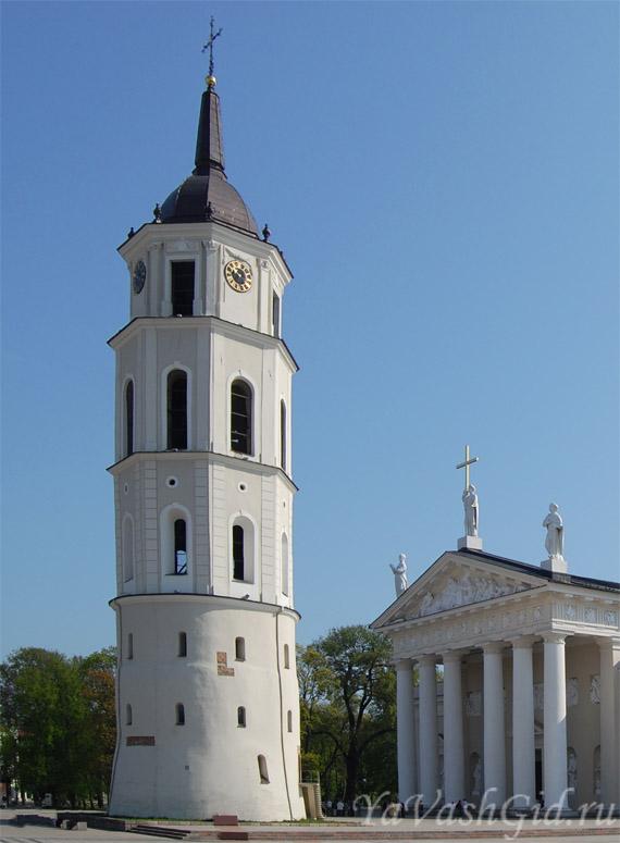 Башня колокольня, Вильнюс