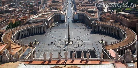 Площадь перед собором Св. Петра