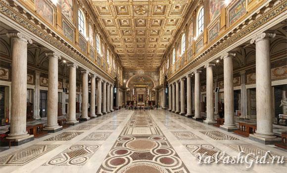Интерьер базилики Санта Мария Маджоре
